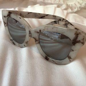 Accessories - Quay Marble Sunglasses